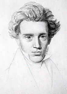A photo of Soren Kierkegaard