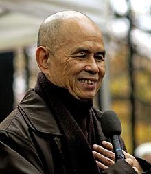 A photo of Buddhist monk Thich That Hahn